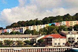 Bristol - colourful houses