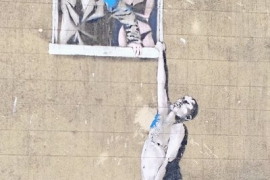 Banksy - Well Hung Lover