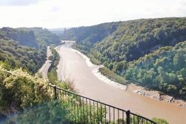 Bristol - Avon view