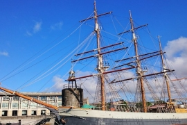 Bristol - ship in harbour