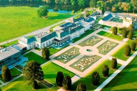 Castlemartyr aerial view
