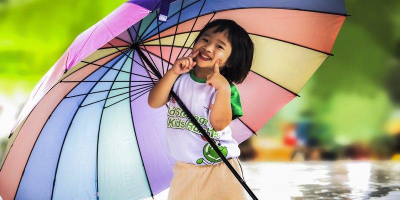 Umbrella happy