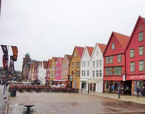 Brygge harbourside